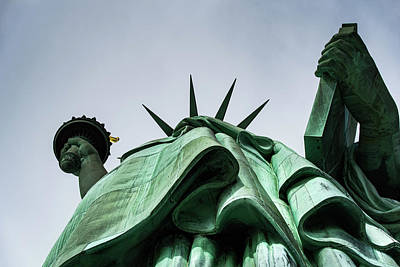 Photograph - Statue Of Liberty by Art Atkins