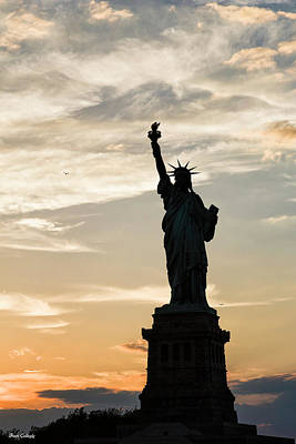 Photograph - Statue Of Liberty by Fran Gallogly