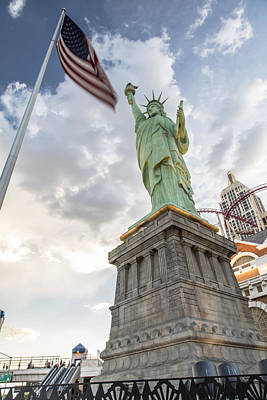 Photograph - Statue Of Liberty In Vegas by John McGraw