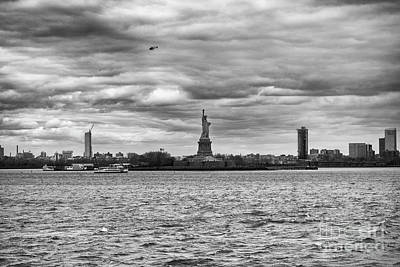 Photograph - Statue Of Liberty by Jim Orr
