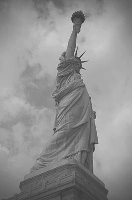 Painting - Statue Of Liberty by Louise Fahy