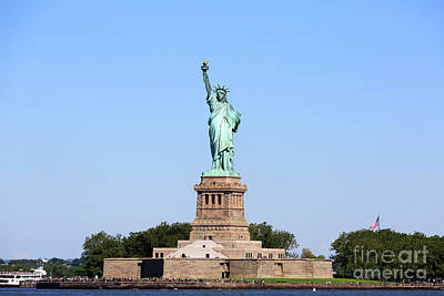 Photograph - Statue Of Liberty by Louise Heusinkveld