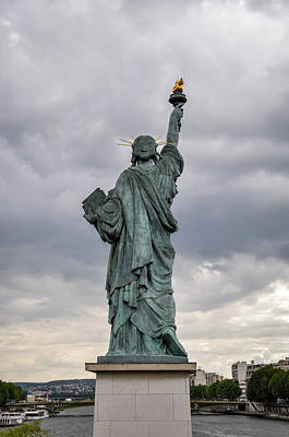 Photograph - Statue Of Liberty Model In Paris by Dutourdumonde Photography