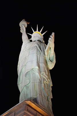 Photograph - Statue Of Liberty.... Not by John Schneider