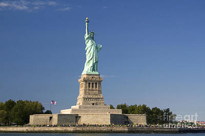 Photograph - Statue Of Liberty, Nyc by David R. Frazier