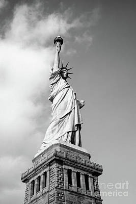 Photograph - Statue Of Liberty Nyc by Edward Fielding