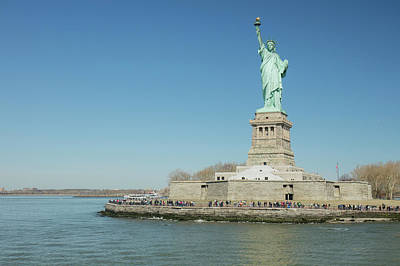 Photograph - Statue Of Liberty by Prashant Meswani