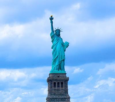 White River Photograph - Statue Of Liberty by Art Spectrum