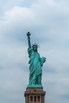 Photograph - Statue Of Liberty by Terry DeLuco