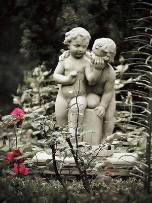 Photograph - Statue Of Love by Jenny Regan