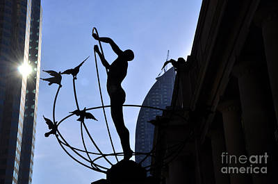 Photograph - Statue Of Multiculturalism 2 by Andrew Dinh