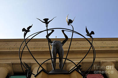 Photograph - Statue Of Multiculturalism by Andrew Dinh