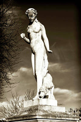 Paris Photograph - Statue Of Nymph by John Rizzuto
