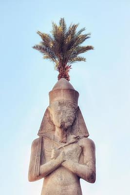 statue of Ramses Art Print by Joana Kruse
