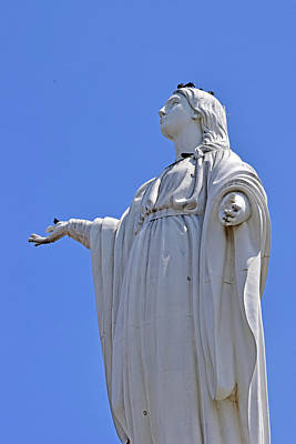 Photograph - Statue Of The Virgin Mary No. 245-1 by Sandy Taylor