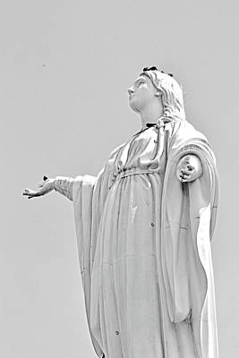 Photograph - Statue Of The Virgin Mary No. 245-2 by Sandy Taylor