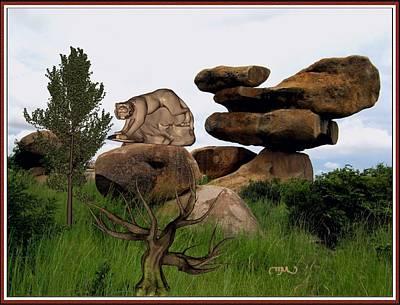 Statue Of Tiger Original
