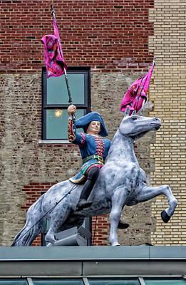 Hermes Wall Art - Photograph - Statue On Hermes Shop Nyc by Robert Ullmann