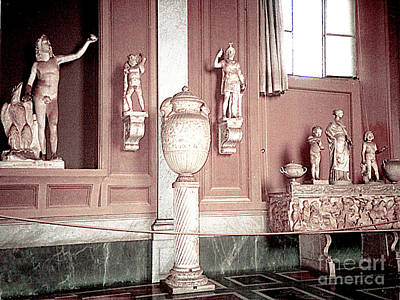 Photograph - Statues In The Vatican Museum by Merton Allen