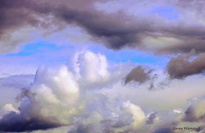 Statues To The Heavens Art Print by Steve Warnstaff