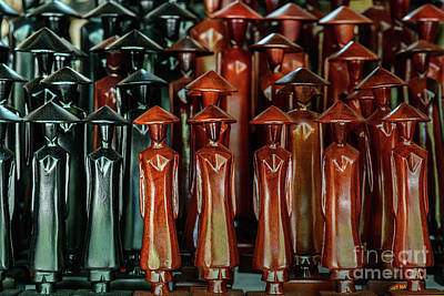 Photograph - Statuettes by Werner Padarin