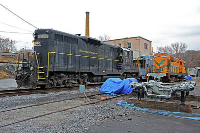 Photograph - Staunton, Va Railroad by Joseph C Hinson Photography