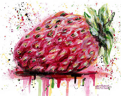 Stawberry 1 Art Print