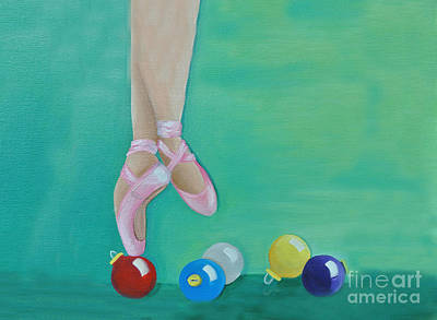 Painting - Stay On Your Toes This Holiday by Kim Chambers