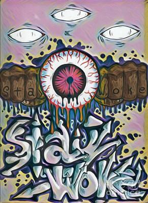 Stay Woke Pastel Colorway Original