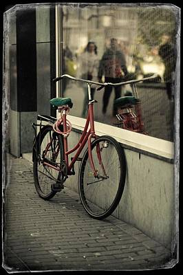 Photograph - Staying Alone. Old Cards From Amsterdam by Jenny Rainbow