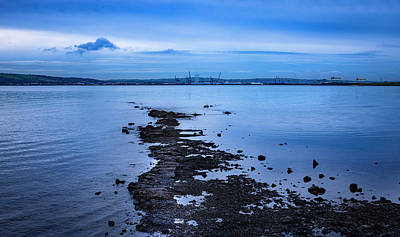 Photograph - Calm Over Belfast Lough by Alan Campbell