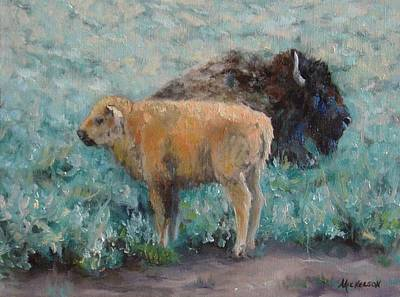 Painting - Staying Close by Debra Mickelson