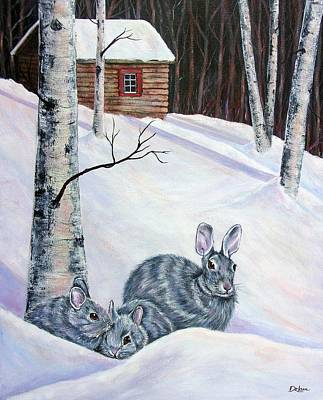 Painting - Staying Vigilant by Susan DeLain