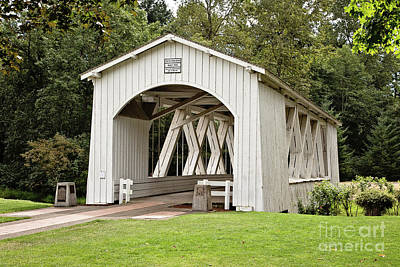 Photograph - Stayton-jordan Covered Bridge by Scott Pellegrin