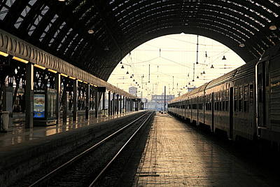 Photograph - Stazione Centrale by Valentino Visentini