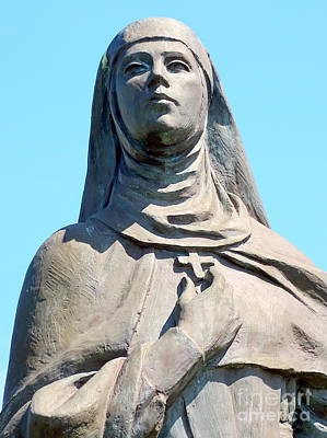 Photograph - St.catherine Of Siena by Ed Weidman