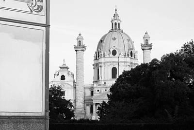 Cslanec Photograph - St.charles Church - Vienna by Christian Slanec