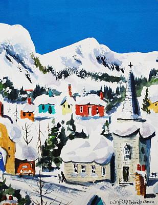 Ste. Saveur Quebec Art Print