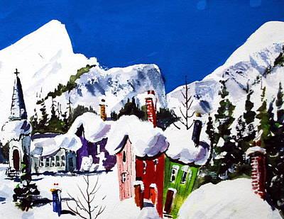 Ste.adele Quebec Art Print
