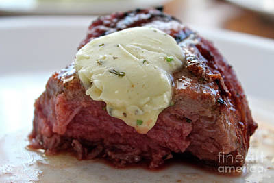 Photograph - Steak  by Ann E Robson