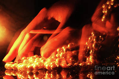 Fashion Photograph - Stealing Pearls by Prar Kulasekara
