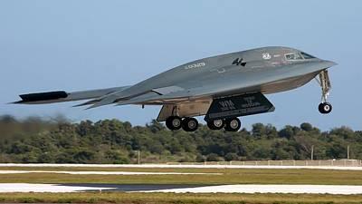 Airplane Digital Art - Stealth Aircraft by Maye Loeser