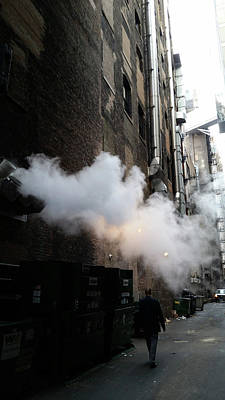 Photograph - Steam 1 by Zac AlleyWalker Lowing