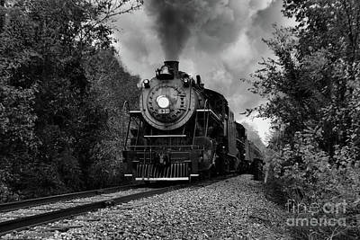 Photograph - Steam And Sleet by Rick Lipscomb