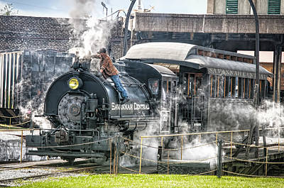 Photograph - Steam Engine #30 by Scott Hansen