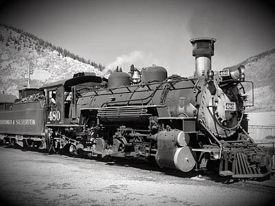 Photograph - Steam Engine 480 by Richard Gehlbach