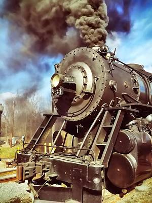 Photograph - Steam Engine by Chris Montcalmo