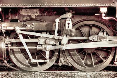 Photograph - Steam Engine by John Magyar Photography