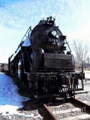 Photograph - Steam Engine Locomotive 2124 by Janine Riley