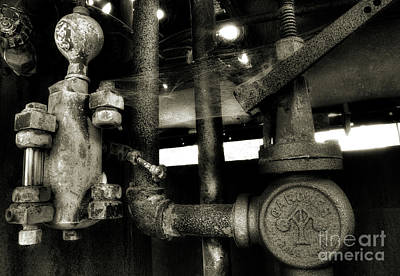 Photograph - Steam Engine Mechanics by Michael Eingle